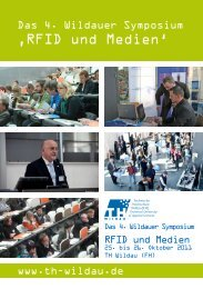4. Wildauer Symposium - bei RFID im Blick