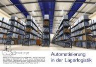 Automatisierung in der Lagerlogistik - bei RFID im Blick