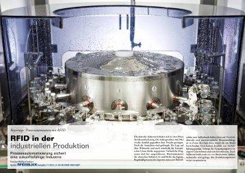 RFID in der industriellen Produktion - bei RFID im Blick