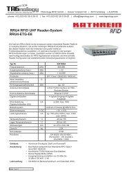 RRU4 RFID UHF Reader-System RRU4-ETG-E6 - RFID Webshop