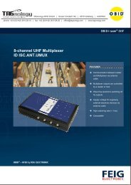 8-channel UHF Multiplexer ID ISC.ANT.UMUX - RFID Webshop