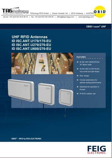 UHF RFID Antennas - RFID Webshop