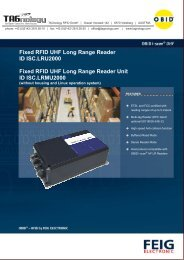 Fixed RFID UHF Long Range Reader ID ISC ... - RFID Webshop
