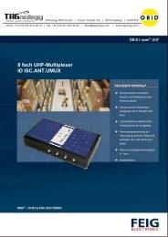8 fach UHF-Multiplexer ID ISC.ANT.UMUX - RFID Webshop