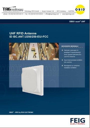 UHF RFID Antenne - RFID Webshop