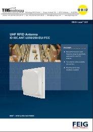UHF RFID Antenna - RFID Webshop