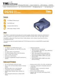 Features About Specifications Serial-over-IP ... - RFID Webshop