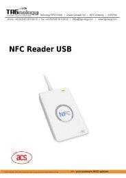 NFC Reader USB - RFID Webshop