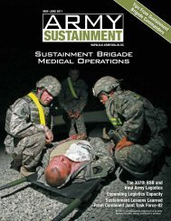Sustainment Brigade Medical Operations - RFID24-7.com