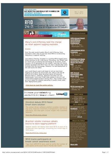 Download Newsletter - RFID 24-7