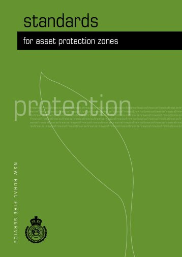 Asset Protection Zone - NSW Rural Fire Service