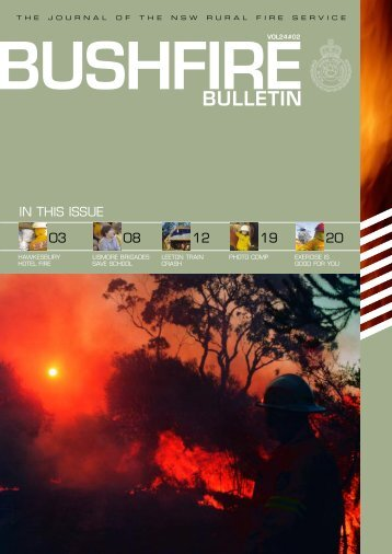 5730 RFS- Bulletin VOL25 - NSW Rural Fire Service - NSW ...