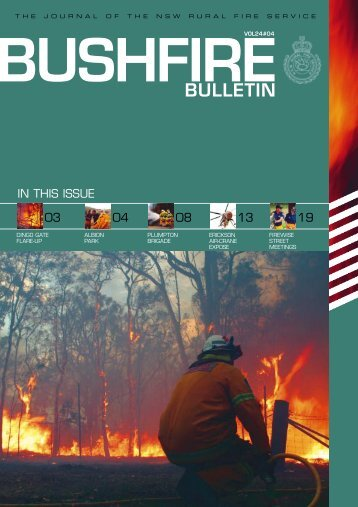 5853 RFS- Bulletin #4 - NSW Rural Fire Service