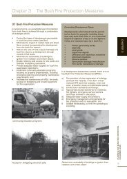 Chapter 3 The Bush Fire Protection Measures - NSW Rural Fire ...