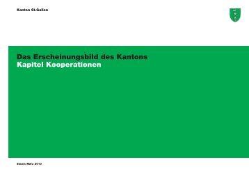 Das Erscheinungsbild des Kantons Kapitel Kooperationen