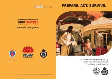 Prepare, Act and Survive - NSW Rural Fire Service