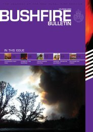 NSWFS Bulletin 25#02 - NSW Rural Fire Service
