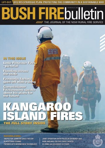 2012 RFS STRATEGIc pLAN - NSW Rural Fire Service - NSW ...