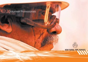 Volunteer Professionals - NSW Rural Fire Service - NSW Government
