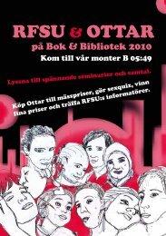 Ladda ner och skriv ut RFSU:s och Ottars program för Bok och ...