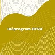 Idéprogram RFSU
