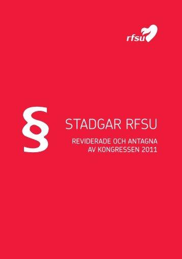 STADGAR RFSU
