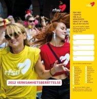 RFSU:s verksamhetsberättelse 2012 (pdf)