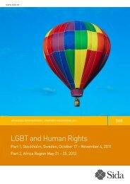 LGBT and Human Rights - RFSU