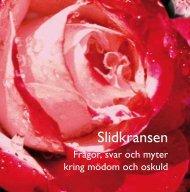 Ladda ner skriften om slidkransen på svenska (pdf) - RFSU
