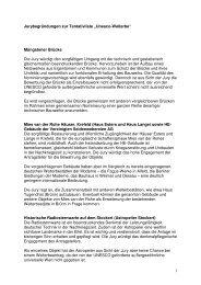 """1 Jurybegründungen zur Tentativliste """"Unesco ... - MBWSV NRW"""