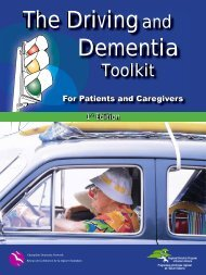 The Driving and Dementia Toolkit - Alzheimer Knowledge Exchange ...