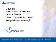 MOVE ON: Assessing Mobility Presentation