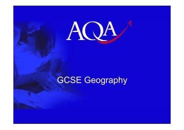 Presentation by AQA