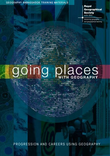 Going Places with Geography (PDF) - Royal Geographical Society