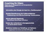 Coaching für Eltern - RGST