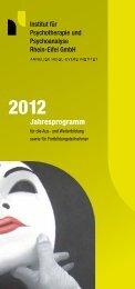 als PDF-Datei herunterladen - Institut für Psychotherapie und ...