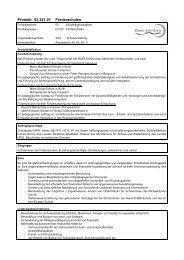 Produkt 03.221.01 Förderschulen - Rhein-Erft-Kreis