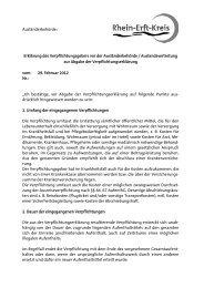 Erklärung des Verpflichtungsgebers vor der ... - Rhein-Erft-Kreis