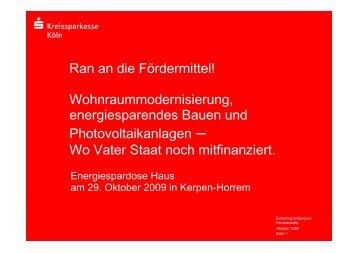 Fördermittel für Gebäudesanierung.pdf - Rhein-Erft-Kreis