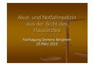 Akut- und Notfallmedizin - Rhein-Erft-Kreis