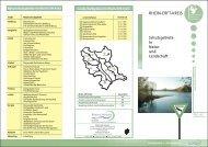Schutzgebiete in Natur und Landschaft - Rhein-Erft-Kreis
