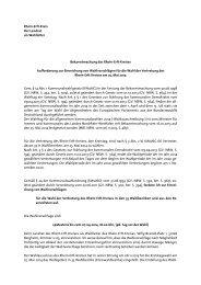 Aufforderung zur Einreichung von ... - Rhein-Erft-Kreis
