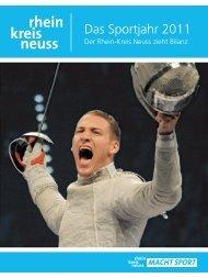 Sportjahresbericht 2011 - Rhein-Kreis Neuss macht Sport