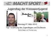 Jugendtag 2012 - Rhein-Kreis Neuss