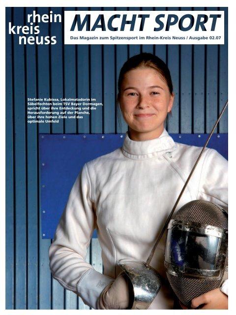 Das Magazin zum Spitzensport im Rhein-Kreis Neuss / Ausgabe 02.07