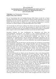 SSV Kaarst Zusammenarbeit Sportvereine Schulen - Rhein-Kreis ...