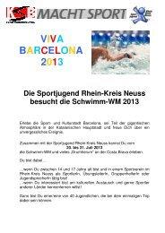 Ausschreibung_Barcelona 2013.pdf - Rhein-Kreis Neuss macht Sport