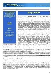 EU-Informationen Ausgabe März 2007 Nicht barrierefrei, fremde(s)