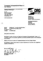 4. Dormagener Rudergesellschaft Bayer e.V. - Rhein-Kreis Neuss