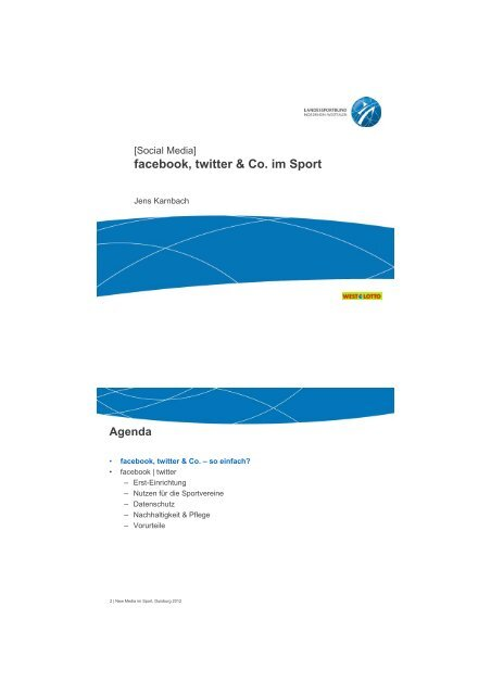 Facebook, twitter und Co.pdf - Rhein-Kreis Neuss